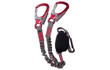 Lacd Set Via Ferrata Pro grey/red